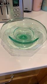 My first Uranium glass vase..so happy.